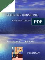 ORIENTASI KONSELING