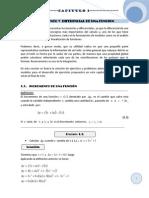 Capitulo 1 - El Incremento y Diferencial de Una Funcion