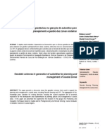 CIÊNCIAS GEODÉSICAS NA GERAÇÃO DE SUBSÍDIOS PARA PLANEJAMENTO E GESTÃO DAS ZONAS COSTEIRAS
