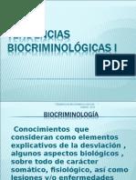 Tendencias Biocriminológicas
