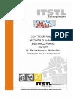 Antología Taller de Ética Contador Público