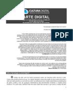 Arte e Tecnologia Digital no Fórum da Cultura Digital Brasileira