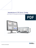 Introduction to LTE Device Testing
