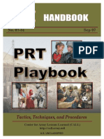 DoD Army PRT Playbook 2007