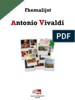 Themalijst Antonio Vivaldi