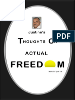 Justine's Thoughts on Actual Freedom(2)