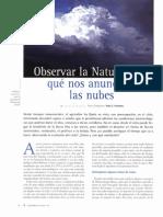 Observar La Naturaleza, Que Nos Anuncian Las Nubes
