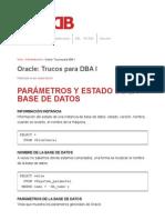 Oracle_ Trucos Para DBA I _ MundoDB
