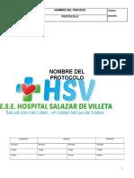 Formato de Protocolos Hsv Nuevo