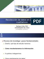 Recoleccion de Datos en Estudios Cualitativos (Metodos Directos)