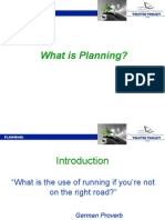 First Function of Management Planning