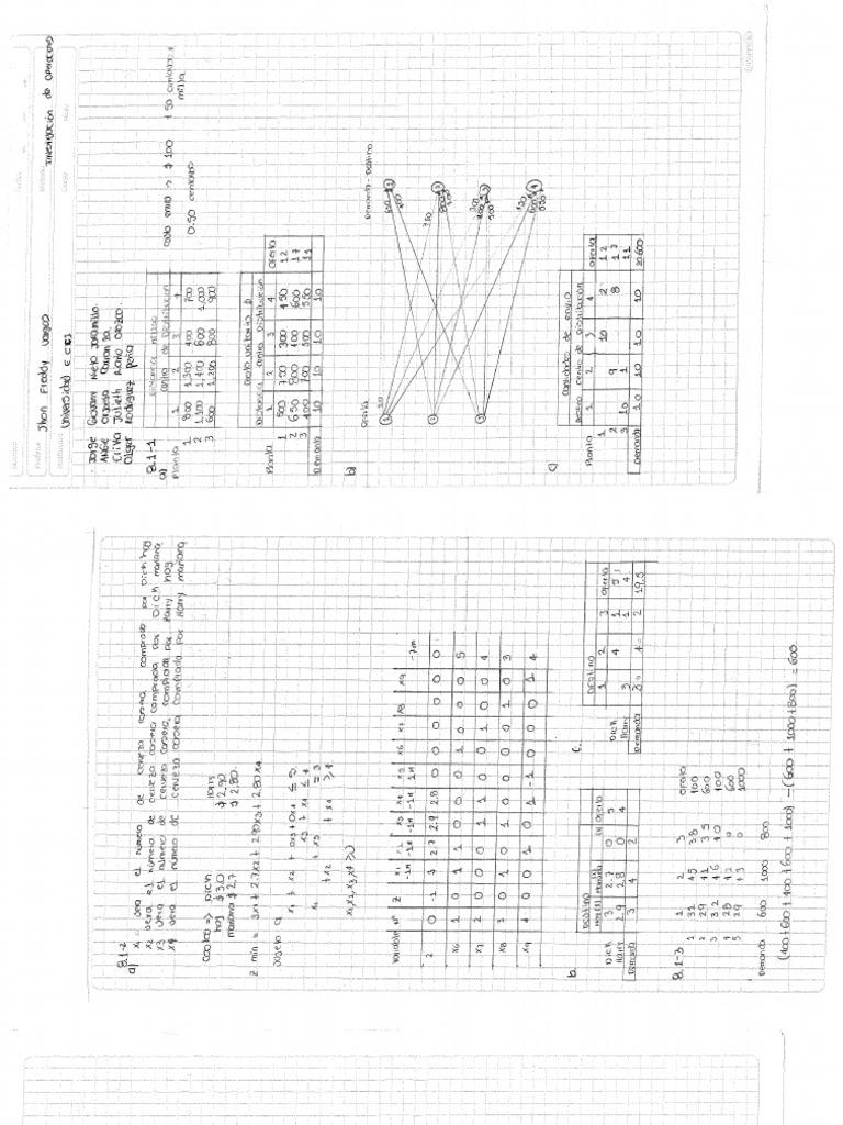 solucionario ejercicios Hiller, F., Lieberman, G. 2000