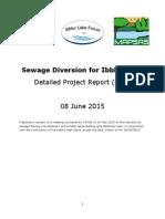 Ibblur Lake- Sewage Diversion DPR