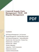 Dispute Management Process Flow