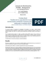 Análisis de la capacidad de transmisión de bioseñales mediante Comunicación Bluetooth utilizando el módulo HC06 con Arduino