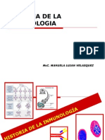 Historia de La Inmunologia