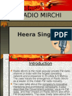MARKETING STRATEGIES OF Radio Mirchi