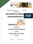 Metasomatismo de Contacto
