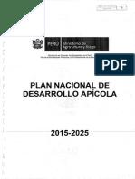 Plan_nacional de Desarrollo Apicola 2015-2025 Minagri