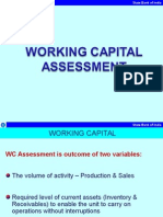 91404 62897 Working Capital Assessment