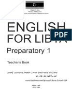 Preparatory 1 Teacher's BOOK7