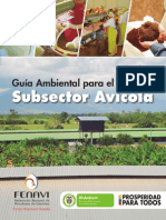 Guia Ambiental Subsector Avicola Oct 16 2014