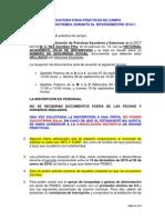 Convocatoria Prácticas PEMEX Semestre 2016 1