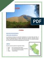 TRABAJO DE INVESTIGACION - Casma 2013
