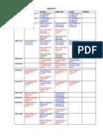 horario 2010