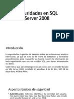 Seguridades en SQL Server 2008