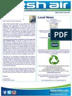 109 - Fresh Air Newsletter MARCH 2014 Keysborough