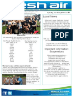 110 - Fresh Air Newsletter APRIL to JULY 2014