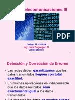 Curso Telecom III - 2014 Codigos de Errores