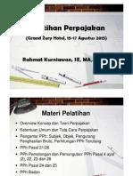 Microsoft PowerPoint - Materi Pelatihan Pajak 150815-1