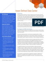 Securing the Software Defined Data Center (SDDC) – Gigamon & RSA Joint Solution Brief