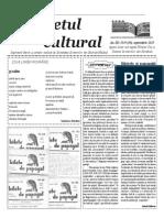 Răsunetul cultural  anul III numărul 9 (30)