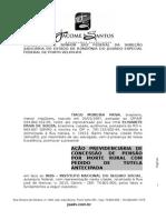 Pensão Por Morte Rural - Tiago Moreira Paiva x Inss