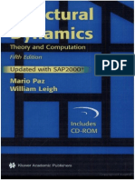 Structural Dynamics - Theory and Computation 5Ed - Updated With SAP2000