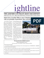 KNIGHTLINE - The Assembly of Infant Jesus Edition August 2015 Issue