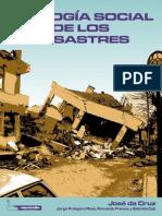 Ecologia Social de Los Desastres