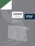 Grzejniki plytowe COSMO katalog techniczny 2010