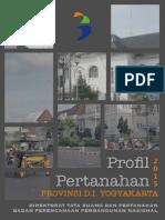 Profil Pertanahan Provinsi D.I Yogyakarta 2015
