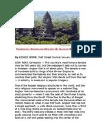 Cambodian Vaishnava History at Angkor Wat