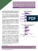 BAM Enquete Mensuelle de Conjoncture Juillet 2015