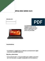 Compaq Mini Serie Cq10