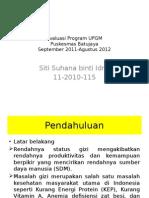 Evaluasi Program UPGM Balita