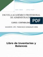 Contabilidad i - Sesion 7 - Libro de Inventarios y Balances
