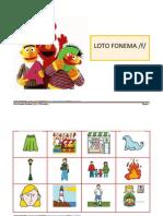 Loto Fonema /f/