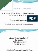 Contabilidad i - Sesion 7 - Libros Contables