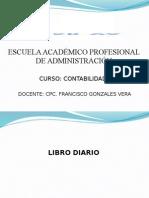 Contabilidad i - Sesion 8 - Libro Diario